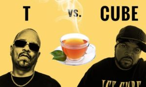 Tea with Ice T and Ice Cube