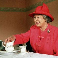 Tea with the Queen of England