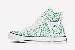 Mikey Burton Converse Shoe Design