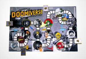 MF Doom Board Game Designed by Anna Laytham