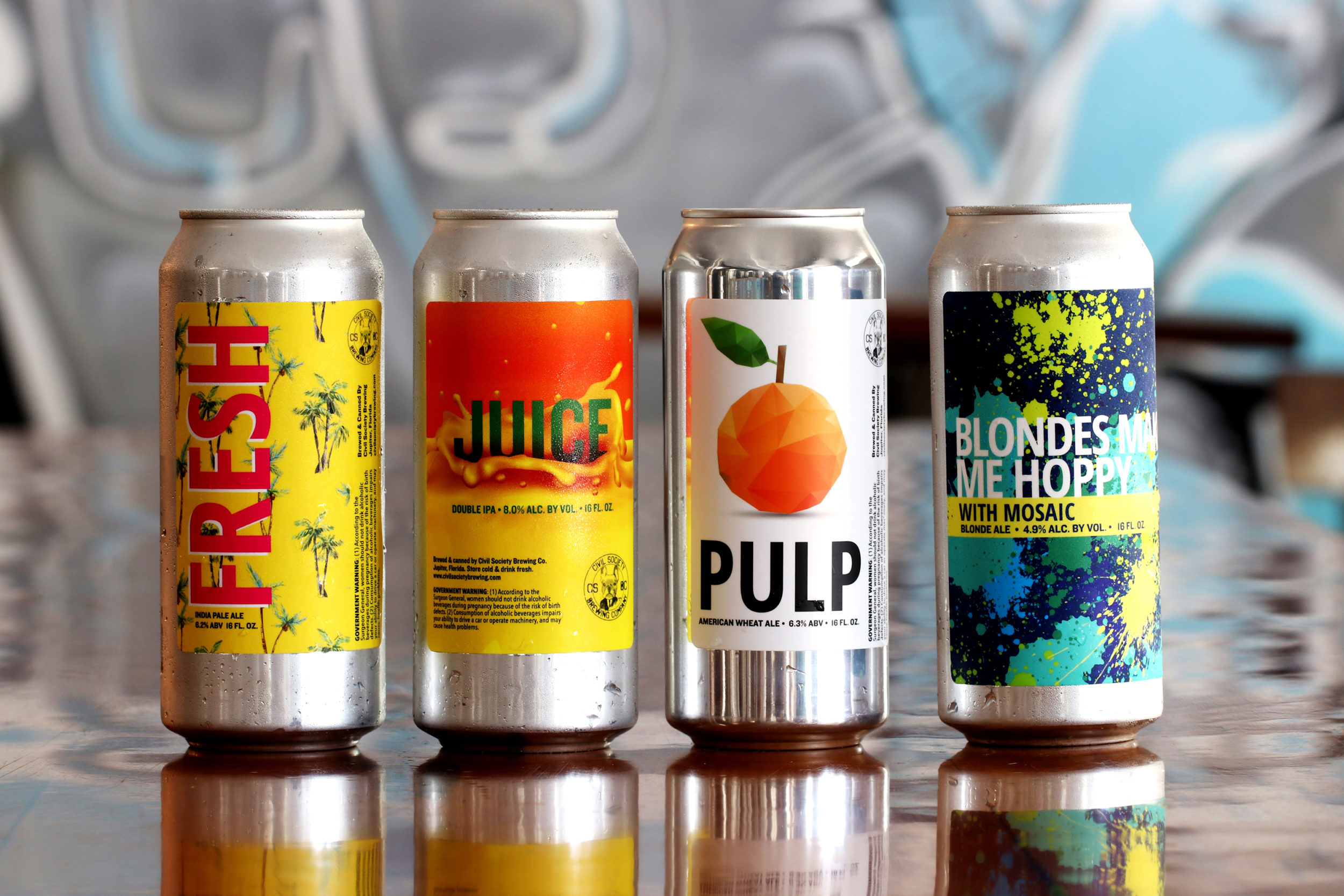Different Can Label Designs