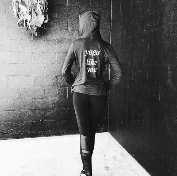 hi yoga hoodie