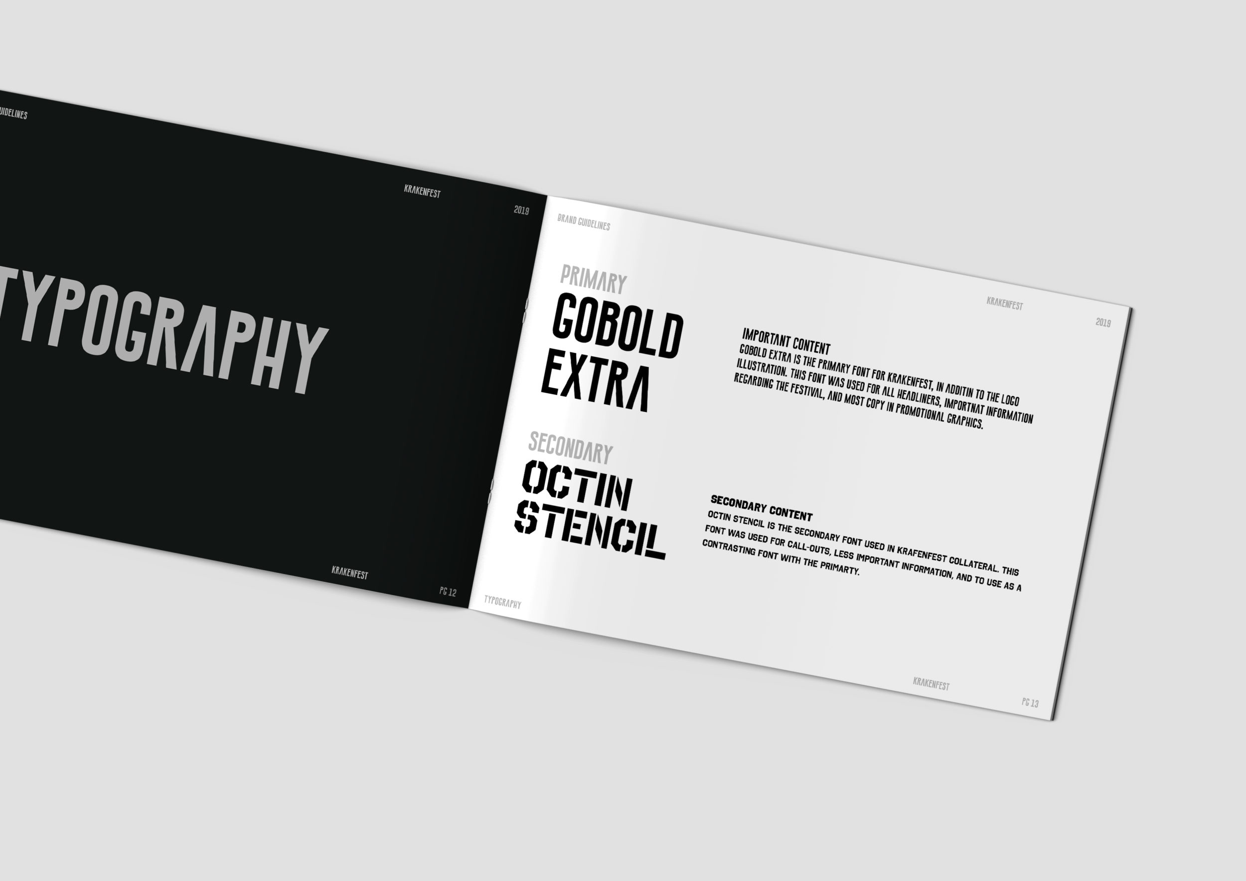 Brand Guide—Typography