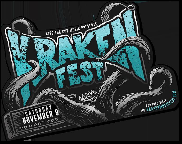 Krakenfest Sticker