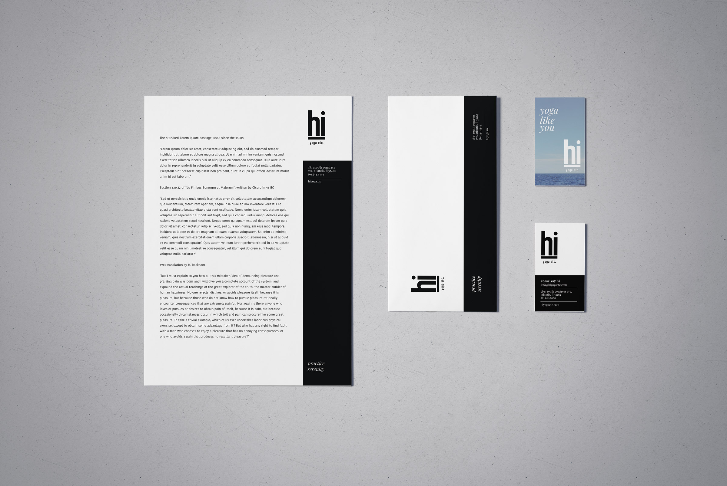 hi yoga stationary kit