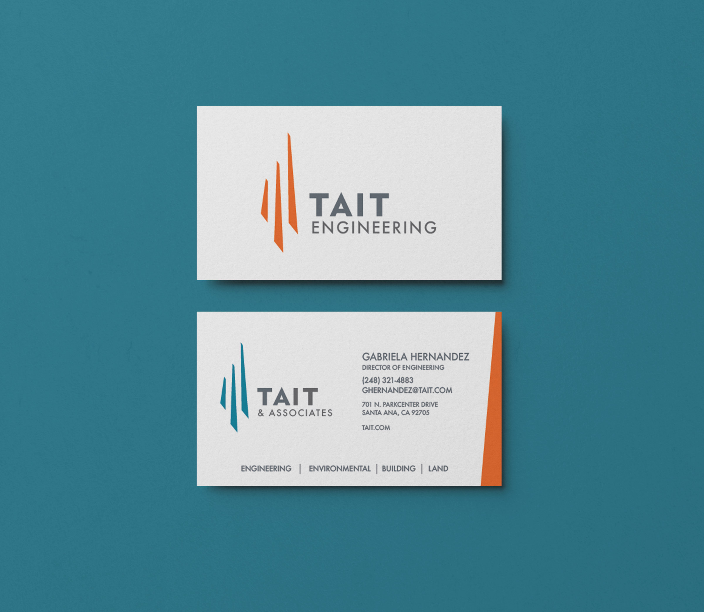 tait business card