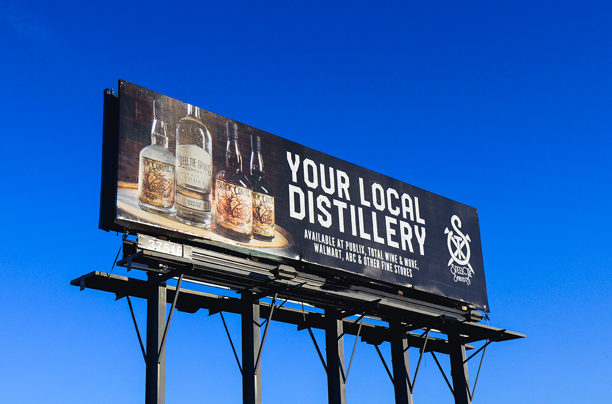 Steel Tie Spirits Billboard