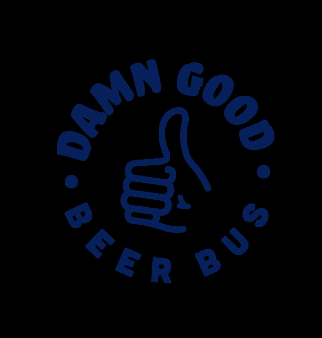 Damn Good Beer Bus Badge