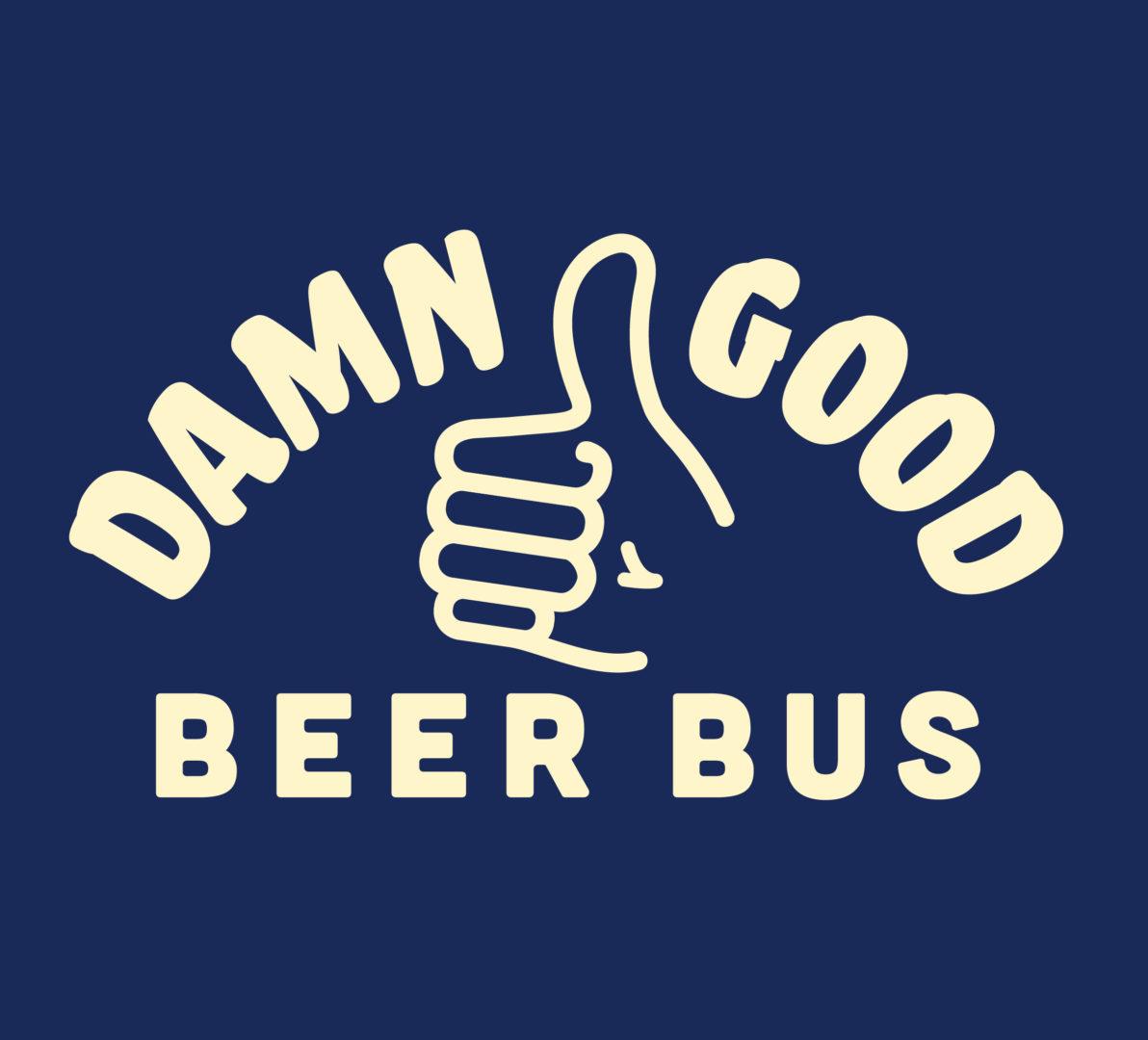 Damn Good Beer Bus Logo