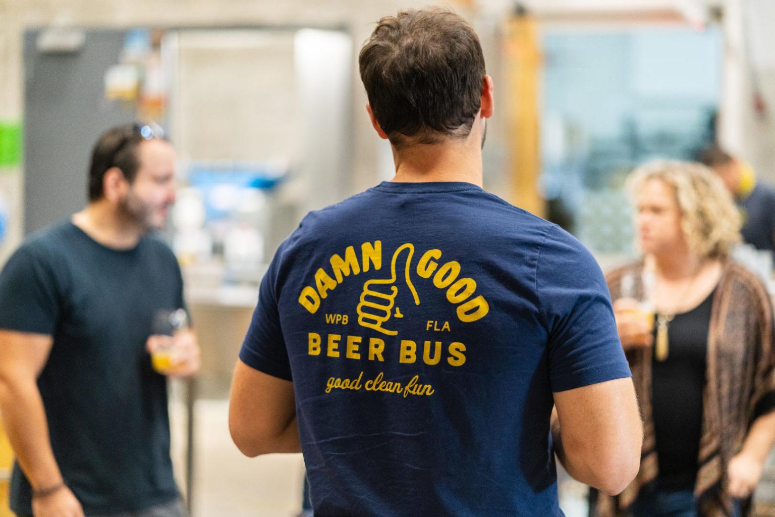 Damn Good Beer Bus Shirt