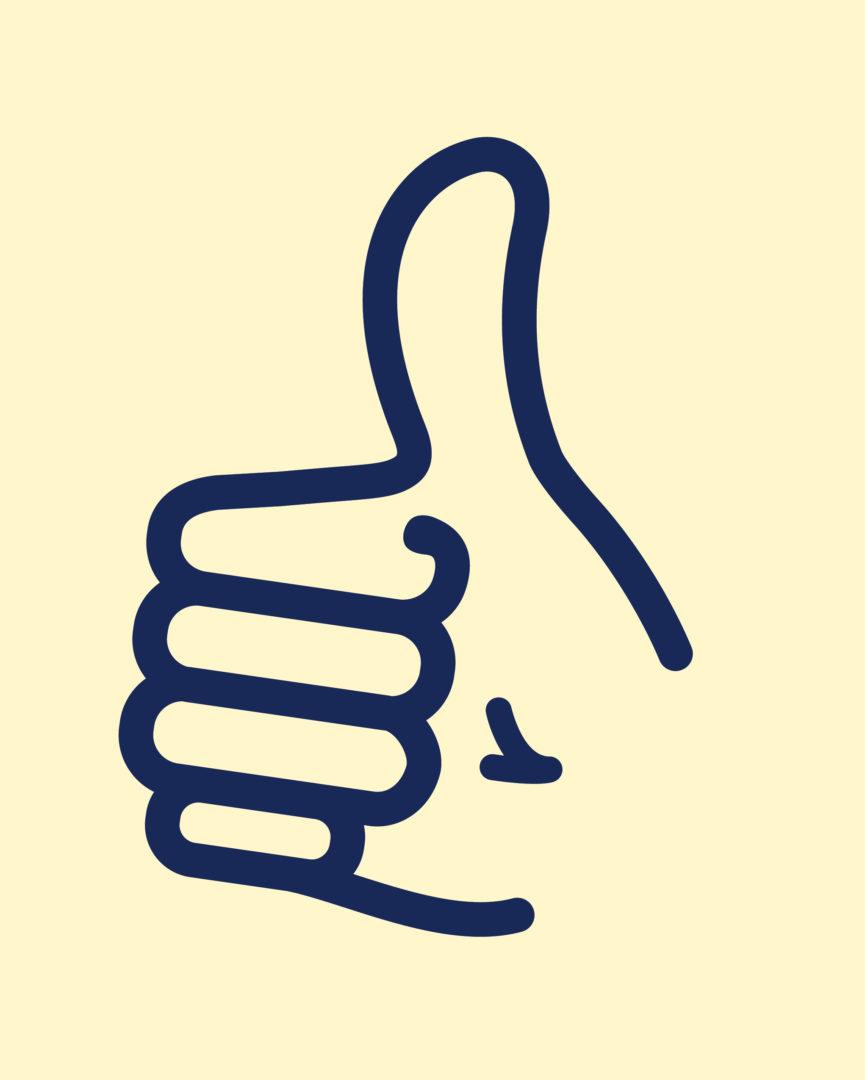 Thumbs Up Mark