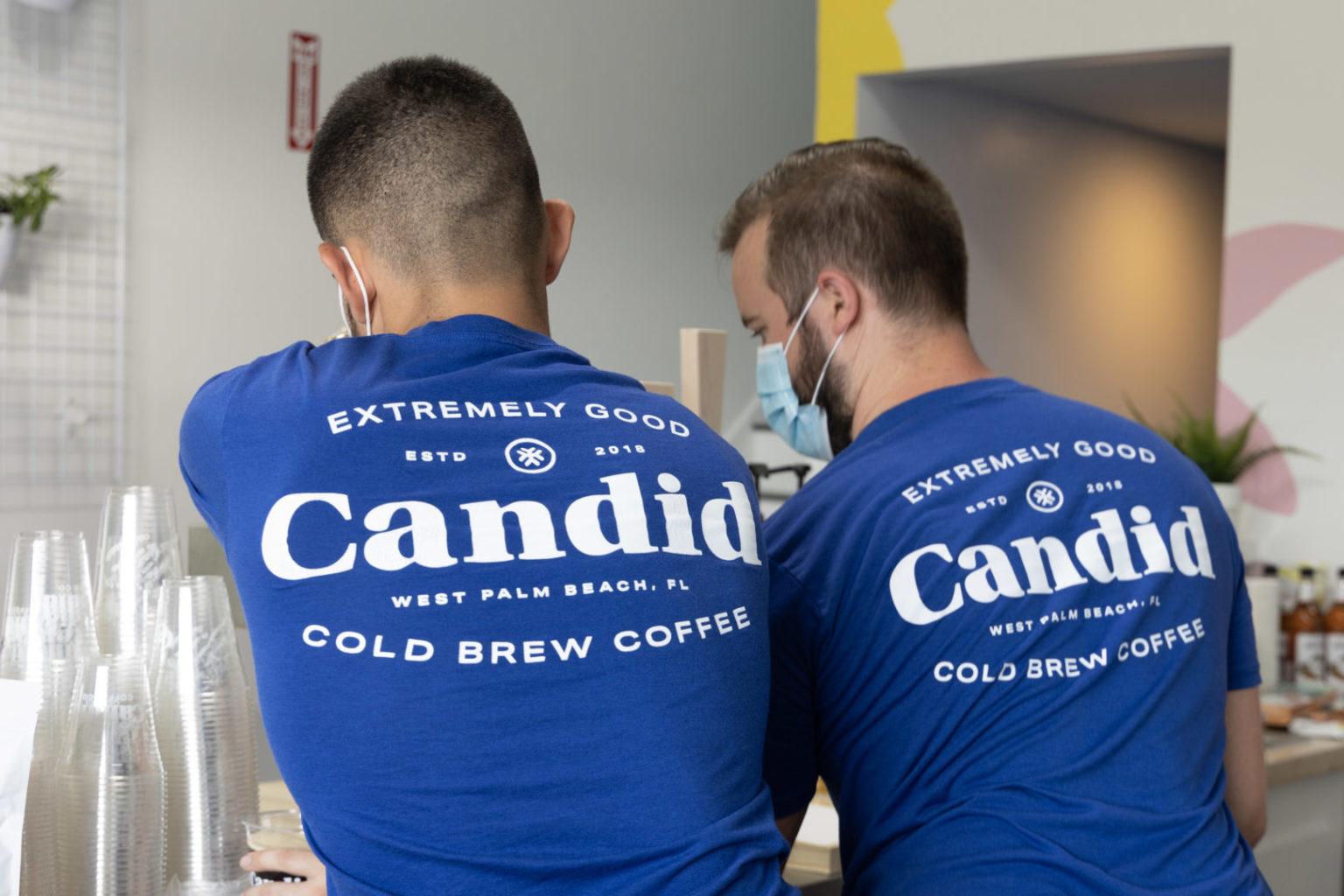 Back of Candid Tshirt